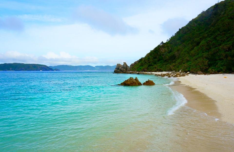 阿嘉島ニシ浜ビーチ